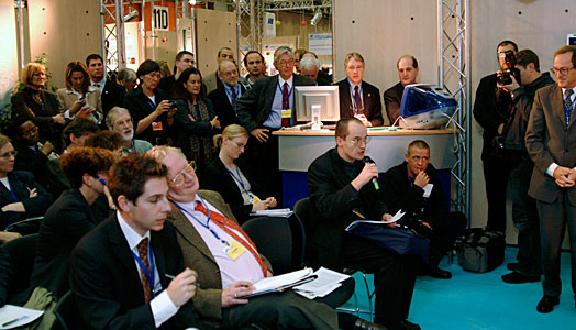 Press at EIROforum Charter signing