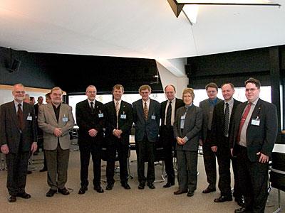 Danish industrialists visiting ESO HQ