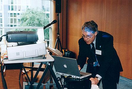 Claus Madsen at EIROforum briefing