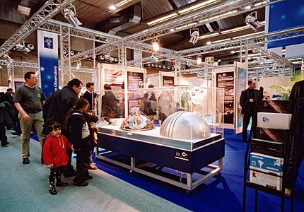 ESO section of EIROforum information stand