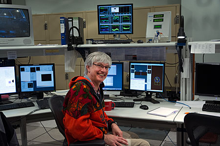 Uli Käufl in the VLT Control Room