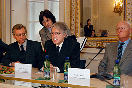 Czech government ESO accession agreement signing ceremony
