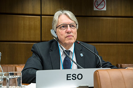 Claus Madsen at UN Committee for the Peaceful Uses of Outer Space (UNCOPUOS)