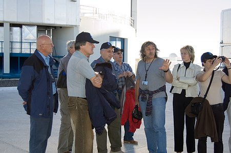 Czech Delegation at Paranal