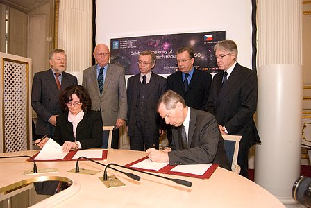 Signing Ceremony for the Czech Republic