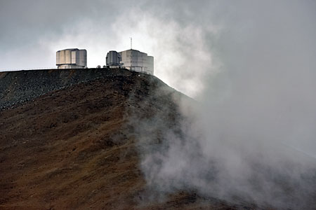 Clouds at Paranal