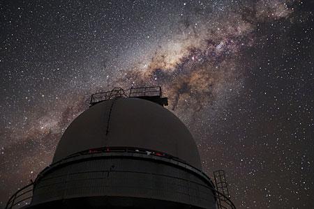 Milky Way above La Silla