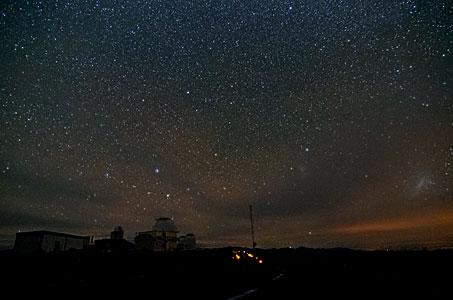 Night Sky at La Silla
