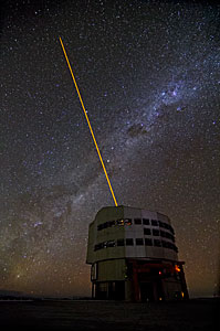 Yepun and the Laser Guide Star