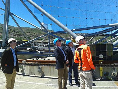 DG visits Teide Observatory