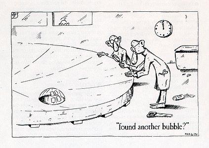 Cartoon about the VLT mirrors
