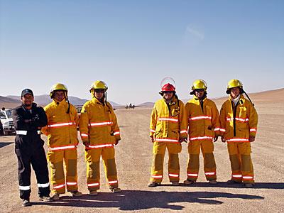 The Paranal Fire Brigade