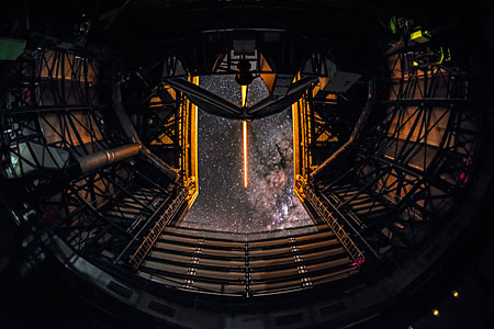 Laser Guide Star at the VLT