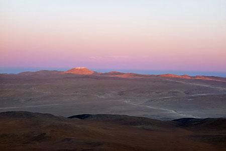 Dusk Over Cerro Armazones