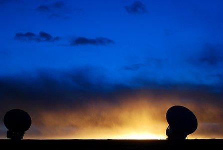 ALMA sunset