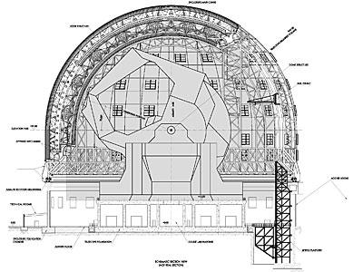 E-ELT Dome Section