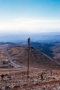 Electrical supplies to La Silla Observatory