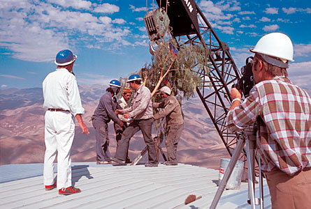 Roof-topping of the ESO 3.6-metre telescope