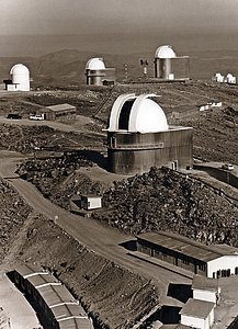 The La Silla Observatory in about 1976