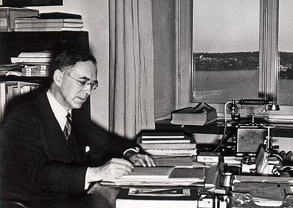 Bertil Lindbald, Director of the Stockholm Observatory