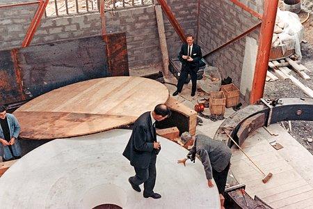Building the ESO 3.6-metre telescope