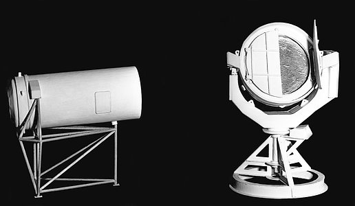 Model of the Coudé Auxiliary Telescope