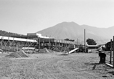 Construction of the Vitacura Offices