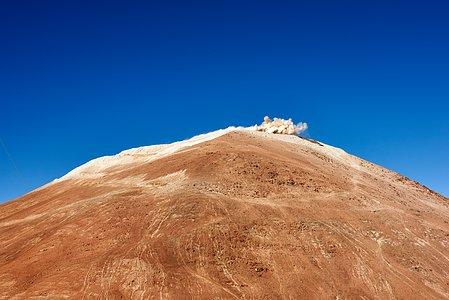 Explosions atop Cerro Armazones