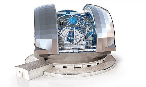 E-ELT external structure