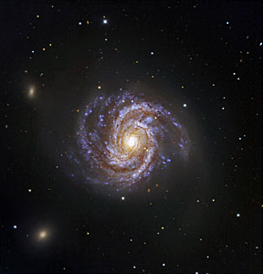 Messier 100 and Supernova SN 2006X