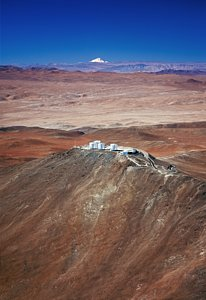 Paranal Observatory and the Volcano Llullaillaco*