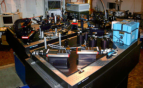 Test of the VLTI Instrument VINCI at ESO Headquarters Optical Lab