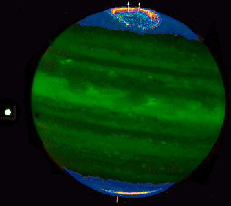 Jupiter's Auroral Ring and Polar Haze