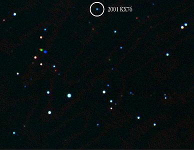 "Asteroid ""2001 KX76"""