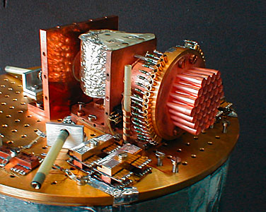 View of the SIMBA instrument