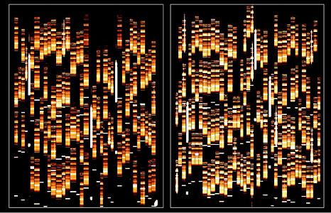 First VIMOS Spectra of Faint Galaxies