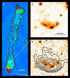 """Hot spots"" near radio galaxy 3C 455"
