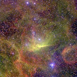 Nebulae Near the Hot Binary Star BAT99-49 in the LMC