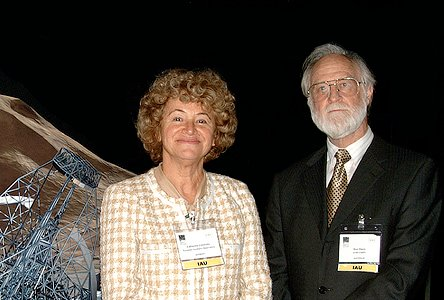 Dr. Catherine Cesarsky and Prof. Ron Ekers