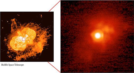 The Immediate Surroundings of Eta Carinae