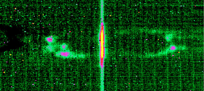 High-Resolution Spectrum of the Ant Planetary Nebula around 12.8μm