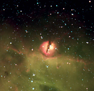 The Nebular Blob in N214C