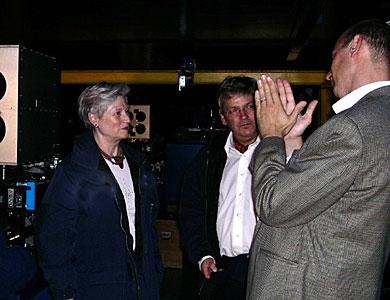 Dutch Minister Maria van der Hoeven at Paranal - III