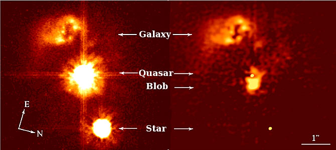 The Quasar without a Home: HE0450-2958