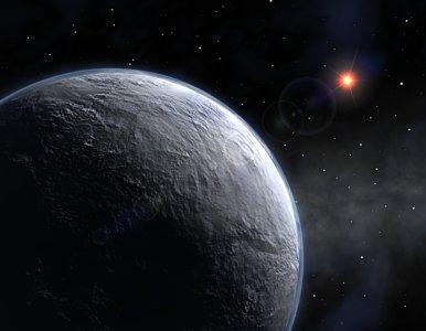 Impresión artística del planeta recién descubierto