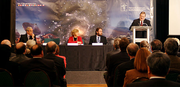 Ten Years ESO-Chile Agreement Ceremony