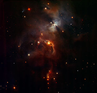 Nebula in Serpens