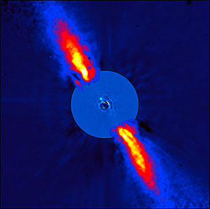 Beta Pictoris as Seen in Infrared Light