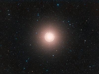 Digitized Sky Survey Image of Betelgeuse