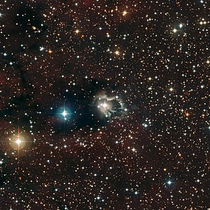 Reflection Nebula around HD 87643